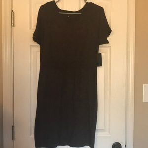 Worthington Dark Brown Sweater Dress